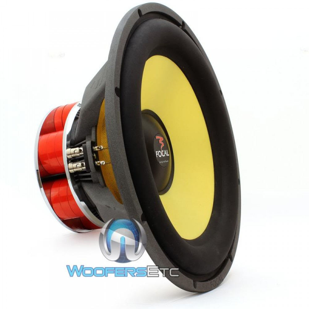 """Focal 40KX 16"""" 1000 Watt DVC K2 Power Subwoofer"""