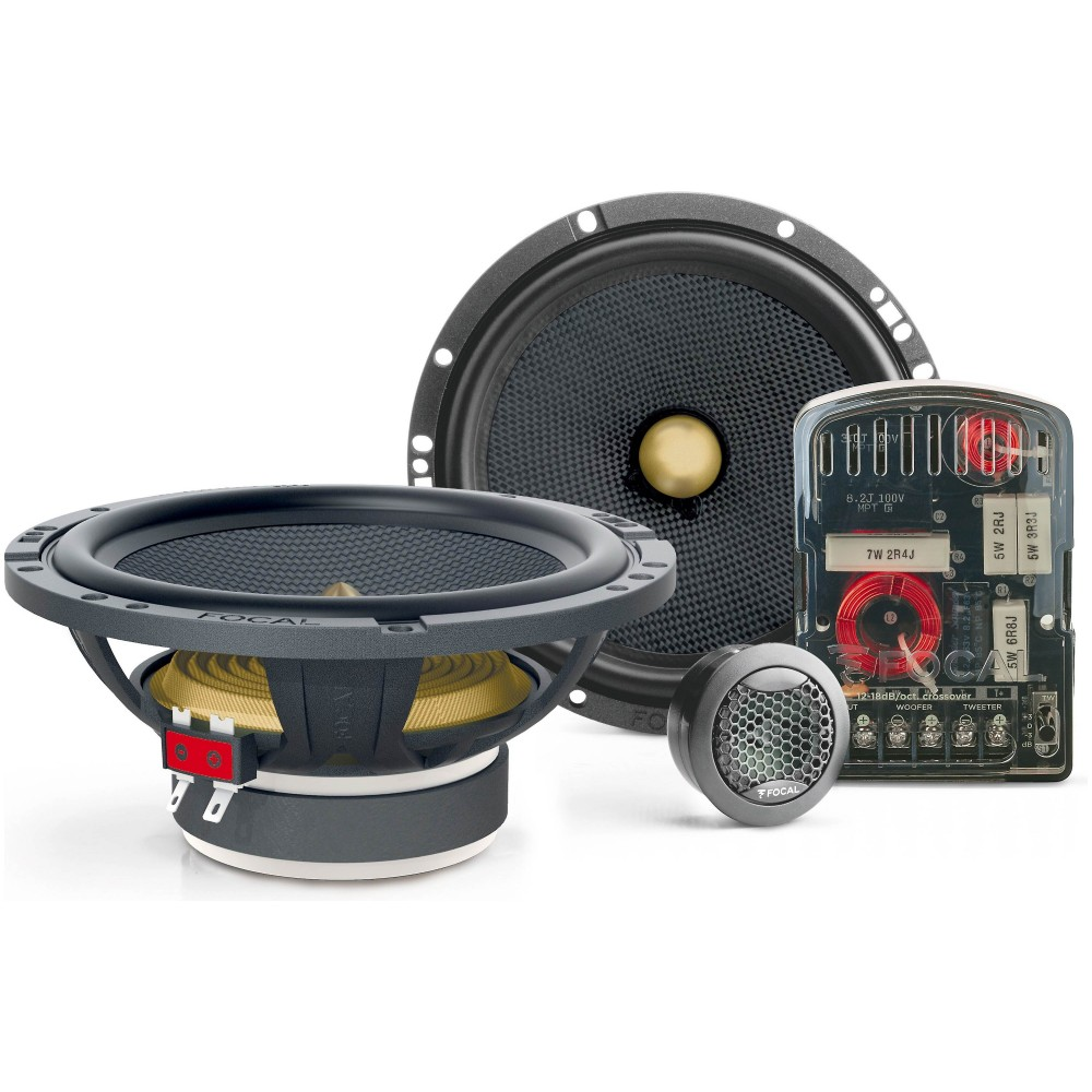 """Focal 165 YE 6.5"""" 70W RMS 2-Way Access Series Component Speaker System"""