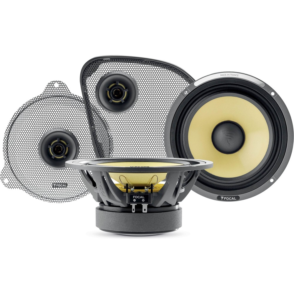 """Focal Harley-Davidson HDK 165-2014 UP 6.5"""" 125W RMS K2 Power Motorcycle Component Speakers"""