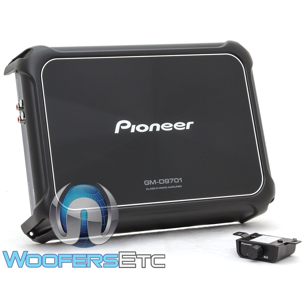 Pioneer GM-D9701 Monoblock Class D 2400W GM Series Amplifier