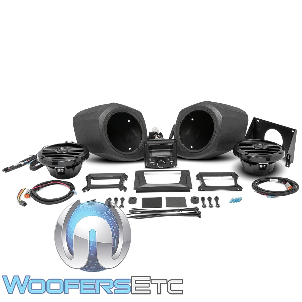 Rockford Fosgate GNRL-STAGE2 Stage 2 Audio Upgrade Kit for select 2016-2017 Polaris Generals