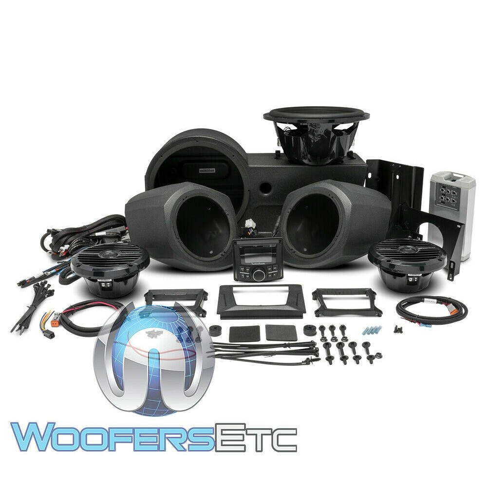 Rockford Fosgate GNRL-STAGE3 Stage 3 Audio Upgrade Kit for select 2016-2017 Polaris Generals
