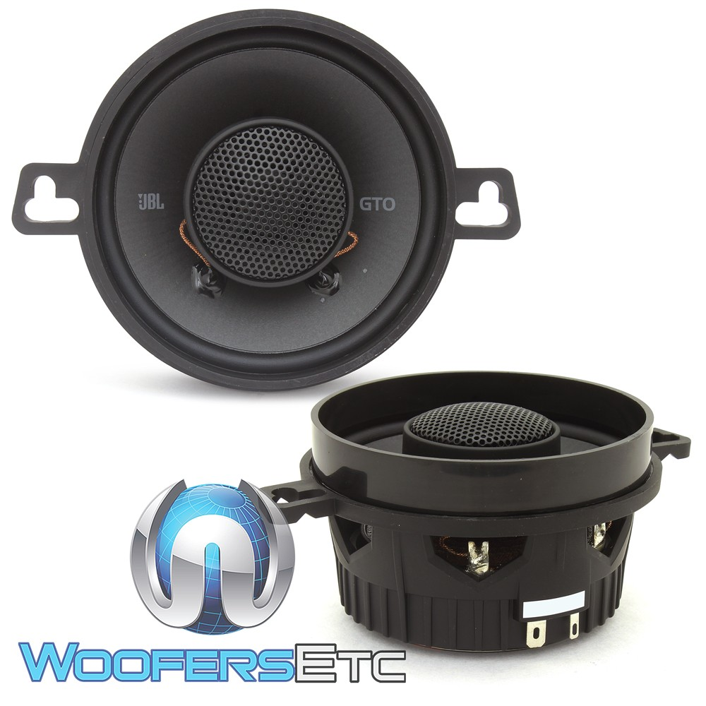 "JBL GTO329 3.5"" 50W RMS 2-Way GTO Series Coaxial Speakers"