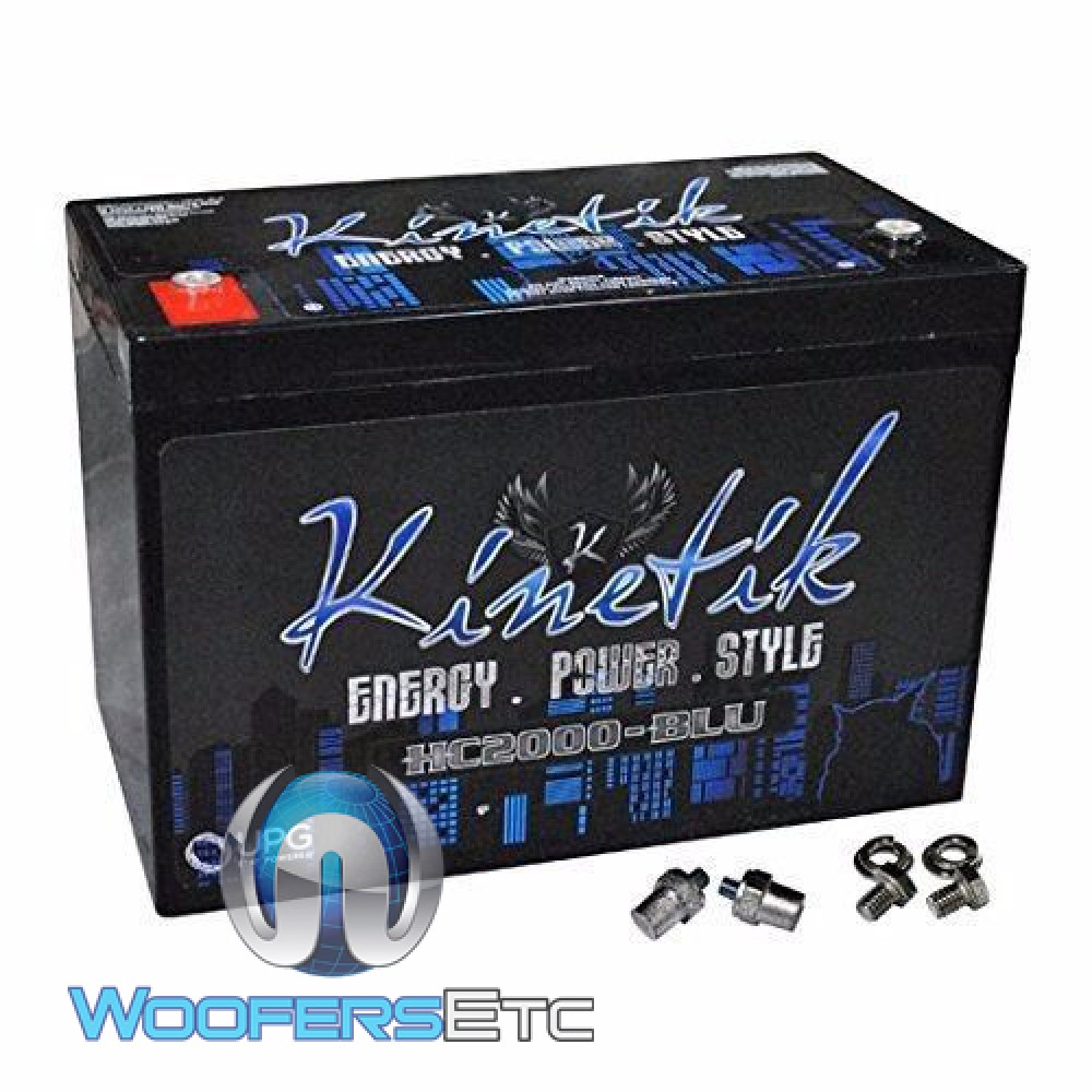 Kinetik HC2000BLU 2000W 12V Power Cell Battery