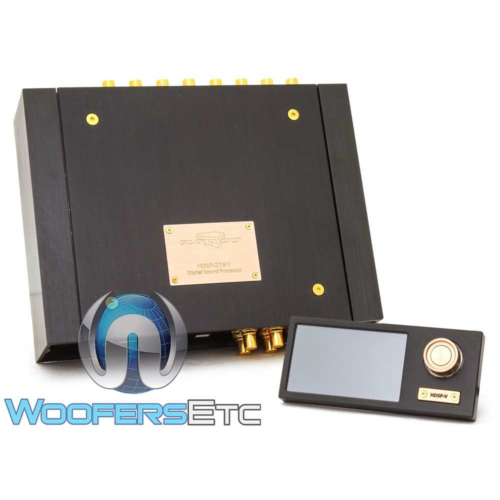 Zapco HDSP-Z16 V 16-Channel Digital Sound Processor with HD Player