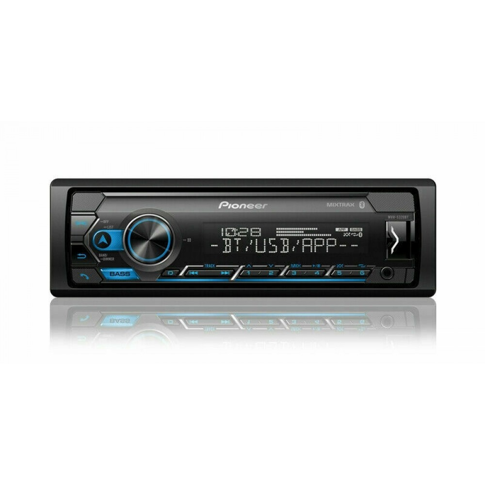 Pioneer MVH-S320BT In-Dash 1-DIN Digital Media Receiver Bluetooth USB AUX