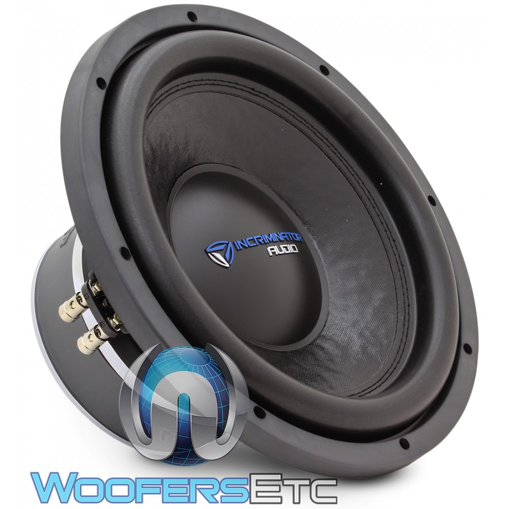 "Incriminator Audio I12D2 12"" 500W RMS Dual 2-Ohm I Series Subwoofer"