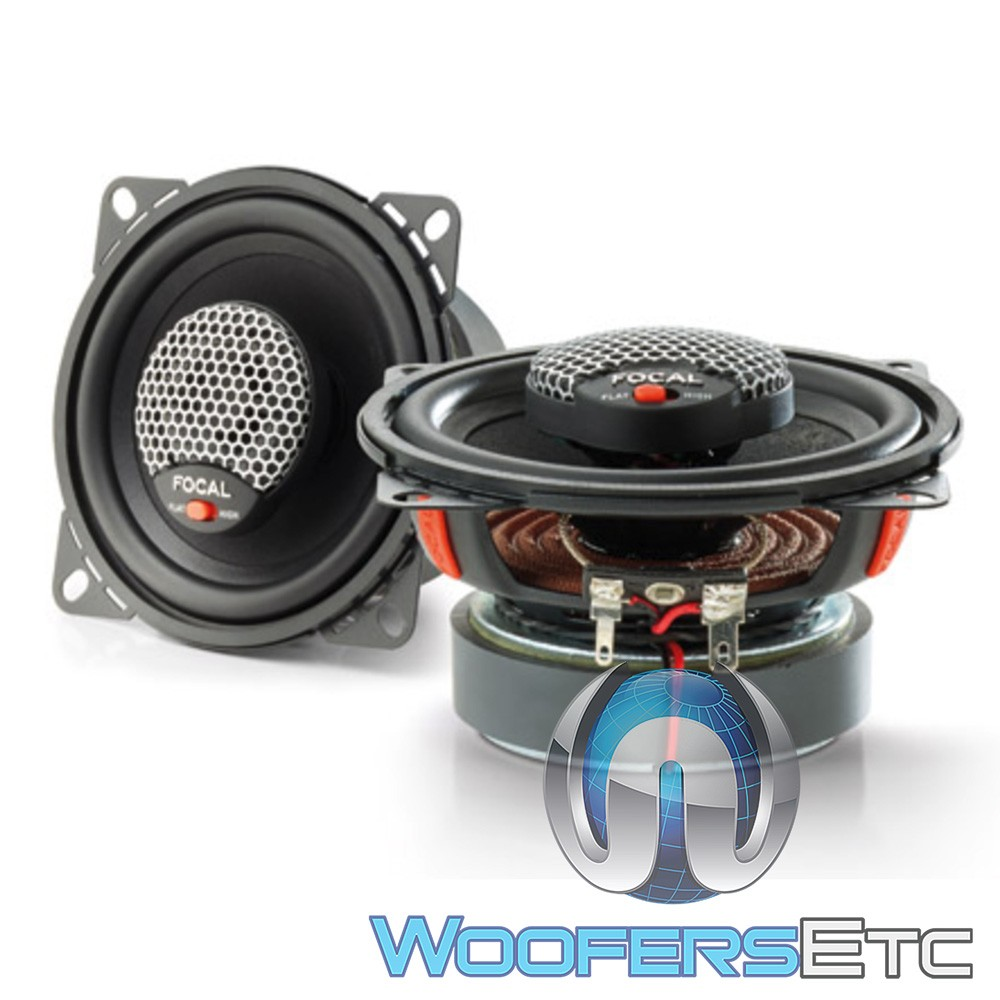 """Focal ICU-100 4"""" 40W RMS 2-Way Universal Integration Series Coaxial Speakers"""