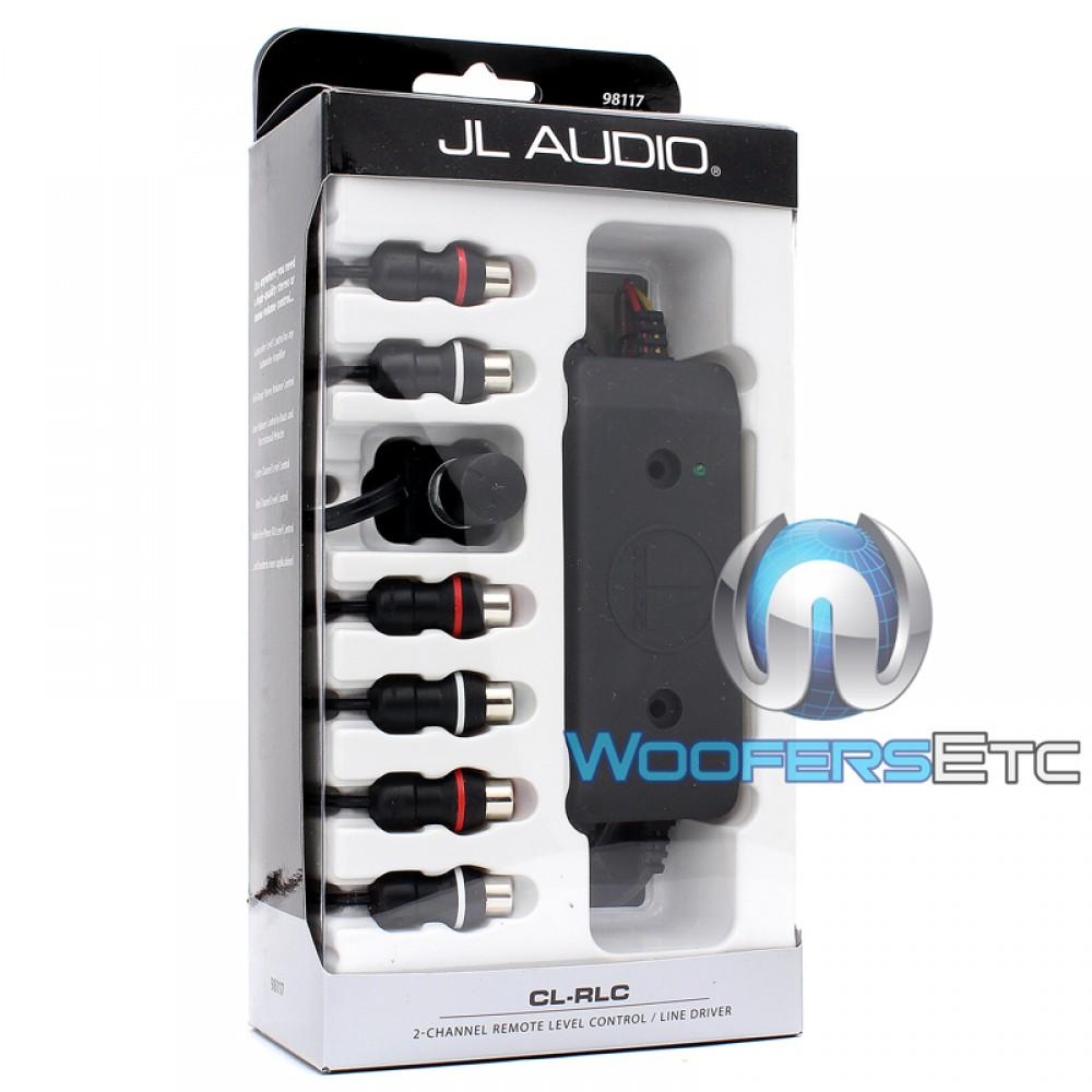 CL-RLC - JL Audio 2-Channel Remote Level Control / Line Driver