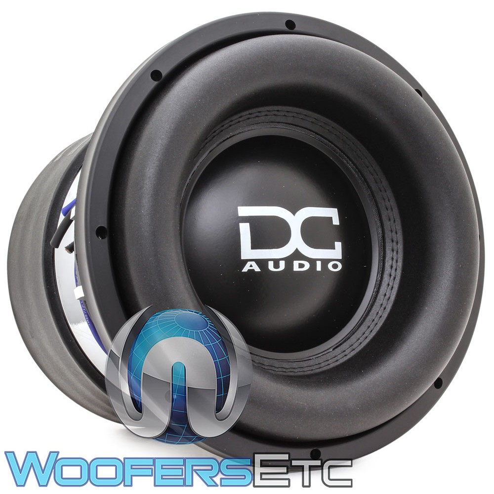 "DC Audio LV5 M5 ELITE 12 D2 12"" 3000W RMS Dual 2-Ohm Subwoofer"