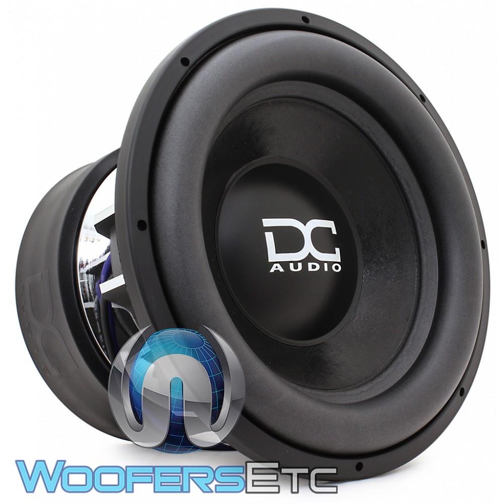 """DC Audio M5 LV6 15 D1 15"""" 4500W RMS Dual 1-Ohm Subwoofer"""