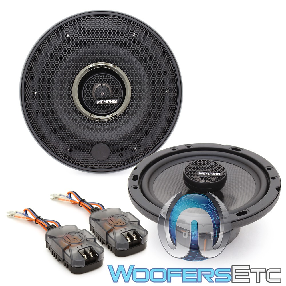 "Memphis MCX6 6.5"" 50W RMS 2-Way MClass Series Coaxial Speakers"