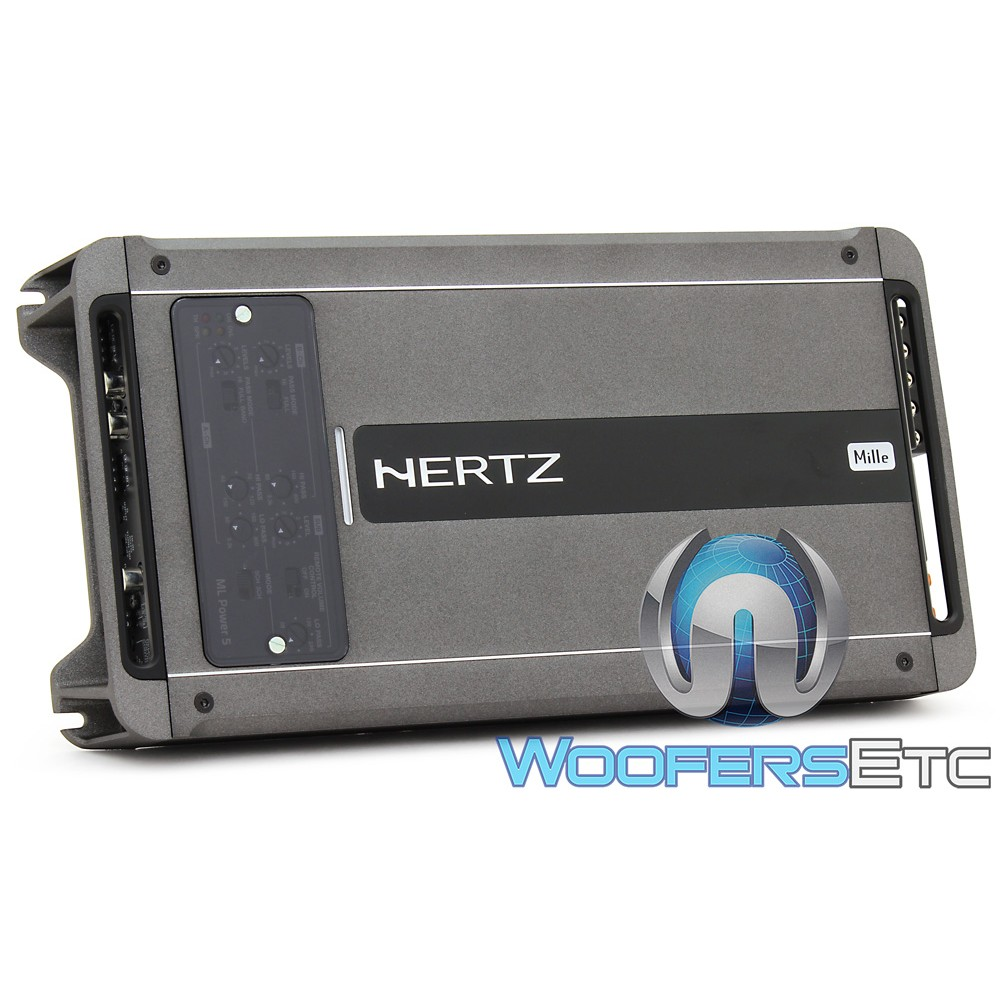 Hertz ML POWER 5 5-Channel 100W RMS x 4 + 550W RMS Class D Amplifier