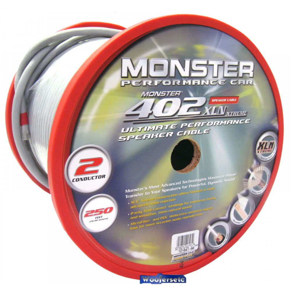 MPC S402 2C-250 - Monster Cable 250 ft. 402 XLN XTREME Speaker ...