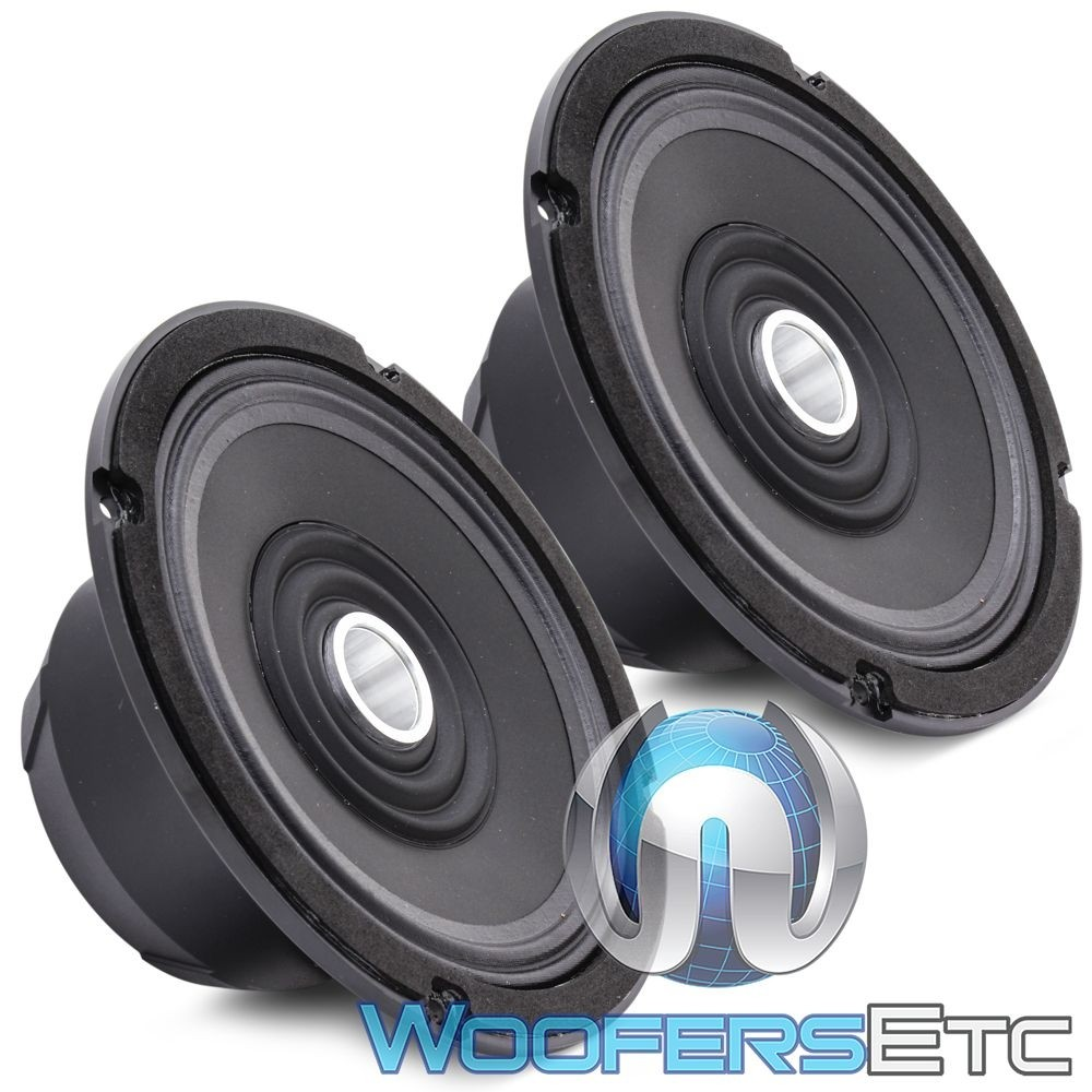 """Arc Audio MOTO602-HD 6.5"""" 125W RMS 2-Way Motorcycle Coaxial Speakers with HLCD"""