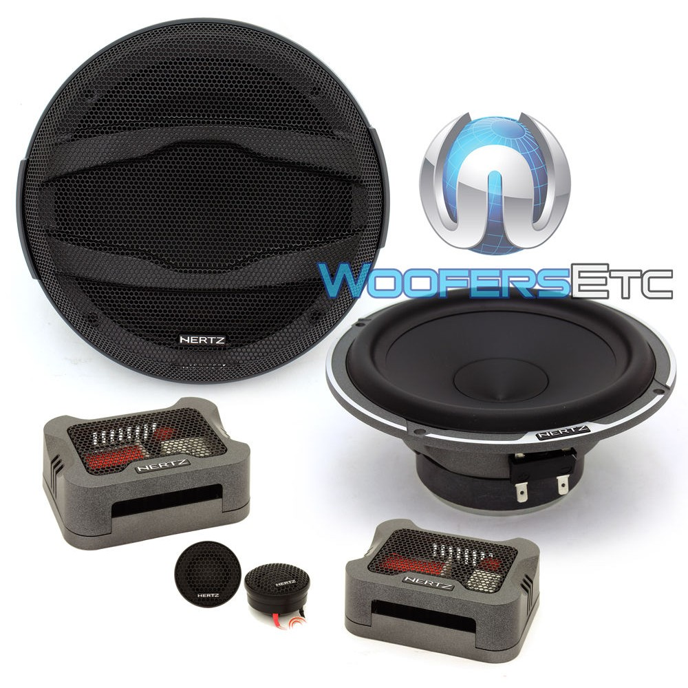 "Hertz MPK165.3 6.5"" Mille Pro 4 Ohm  2-Way Component Speakers"