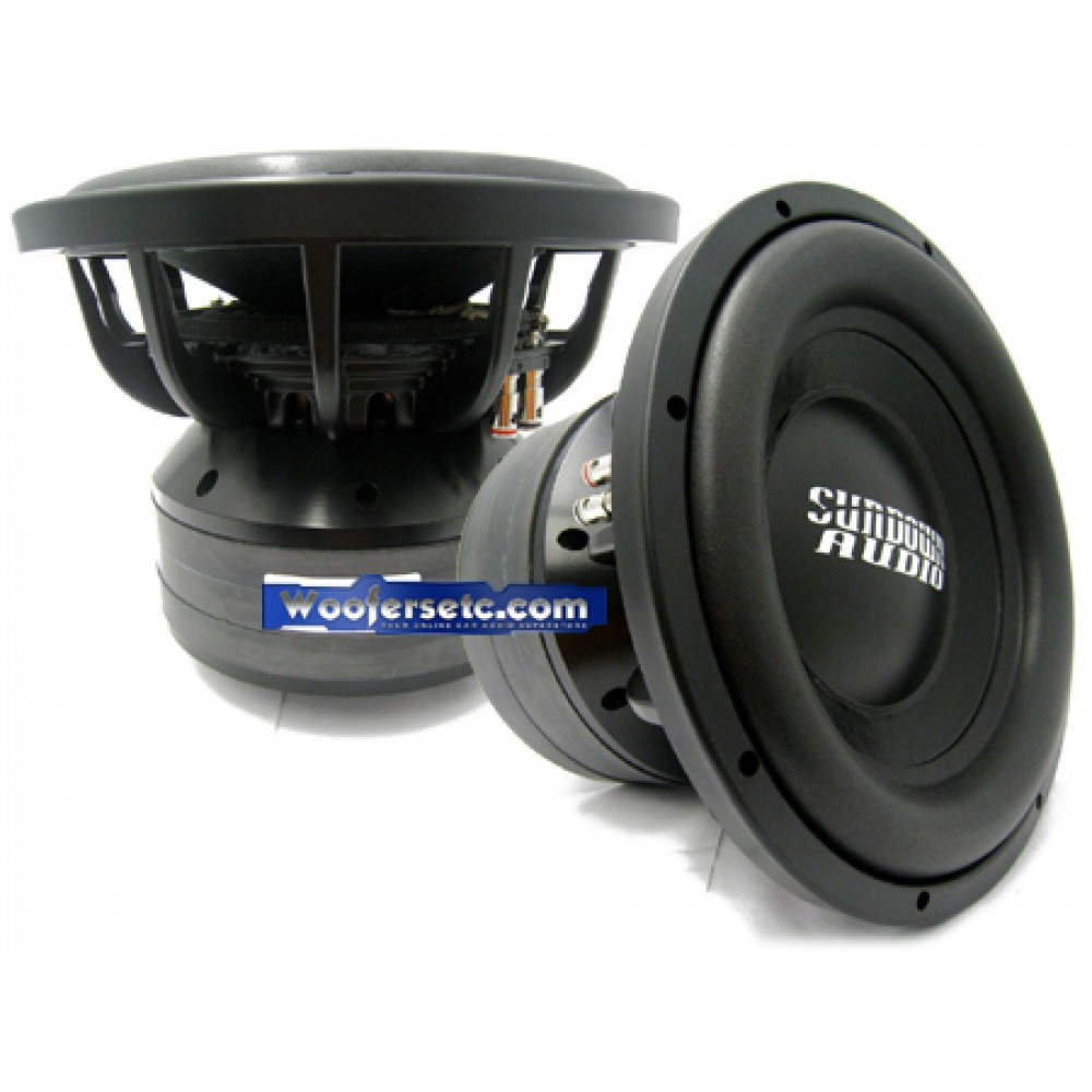 "Nightshade-12 v.2 D1 - Sundown Audio 12"" Nightshade Series Dual 1-Ohm Subwoofer"