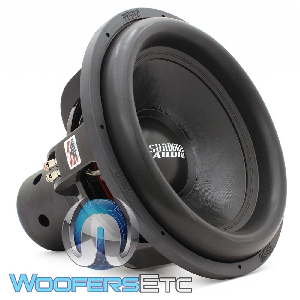 "Sundown Audio NS-18 V.4 D2 18"" 2500 Watt RMS Dual 2-Ohm Nightshade V.4 Series Subwoofer"