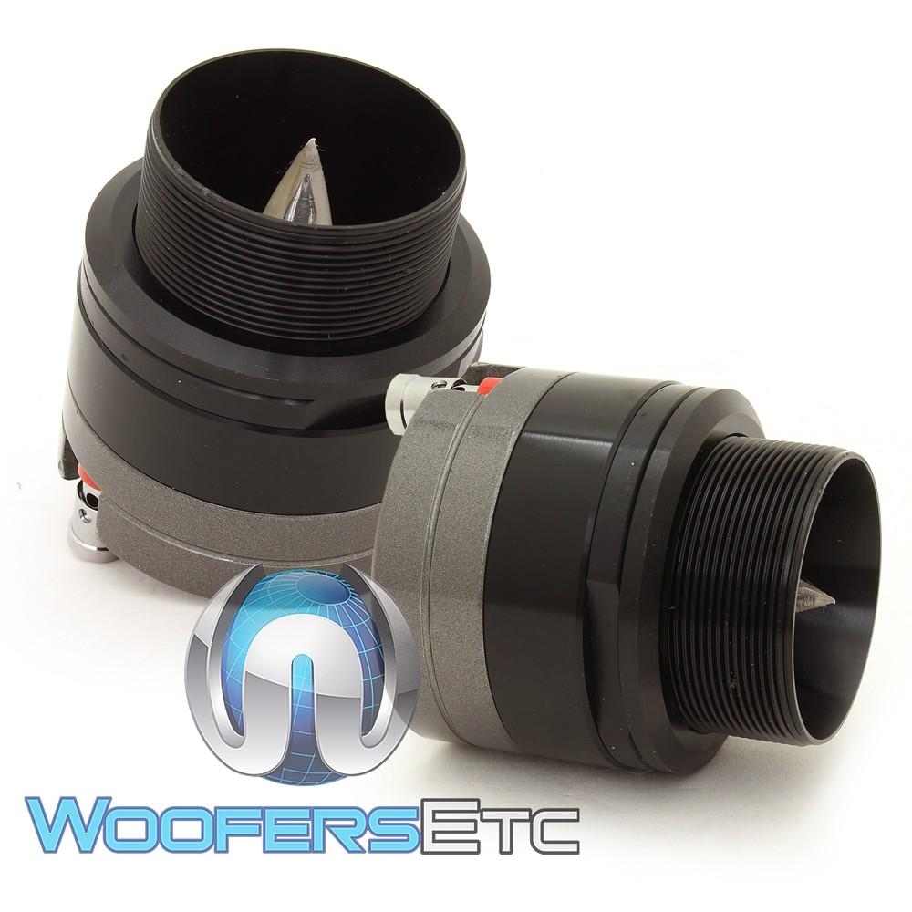 "Power Acoustik NX-5 1"" Titanium Bullet Horn Tweeters"