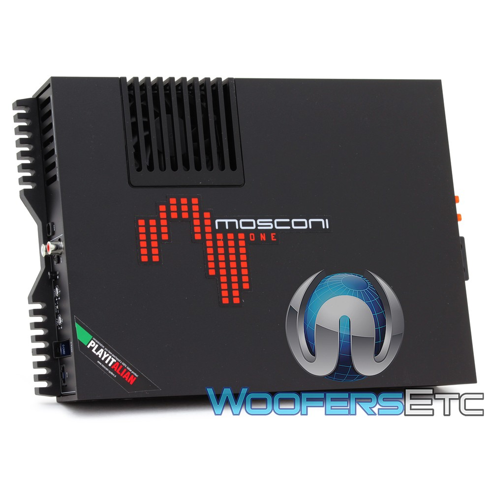 Mosconi ONE 250.2 2-Channel 2 x 280W One Line Series Class AB Amplifier