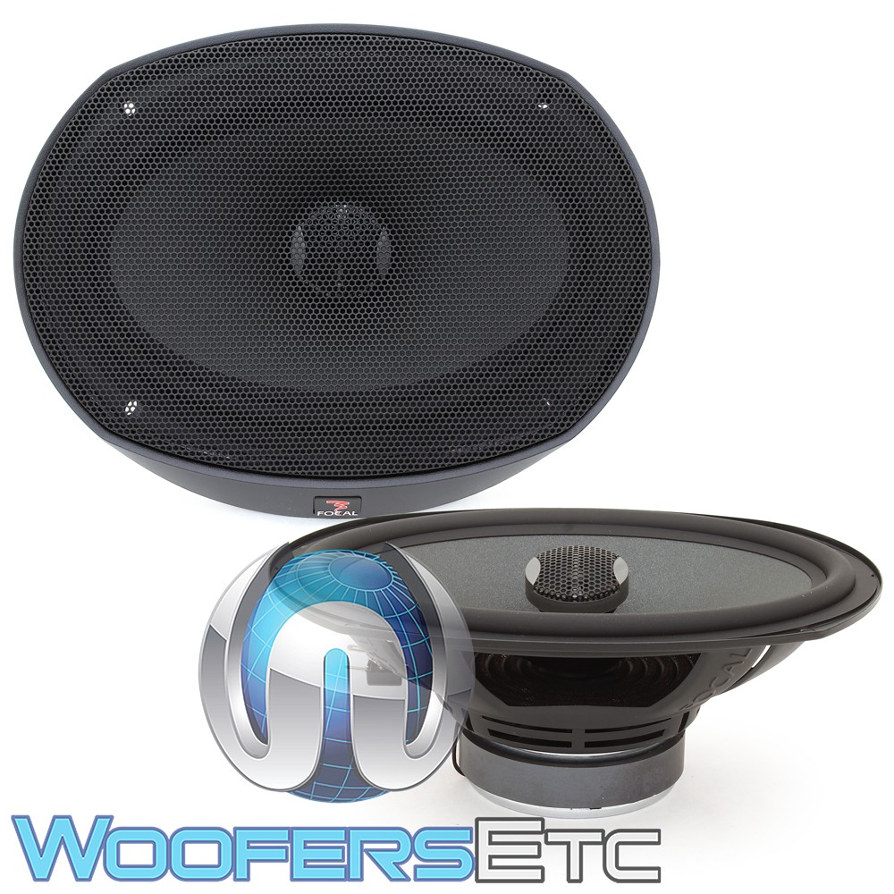 """Focal PC690N 6"""" x 9"""" 120W RMS 2-Way Coaxial Speakers"""