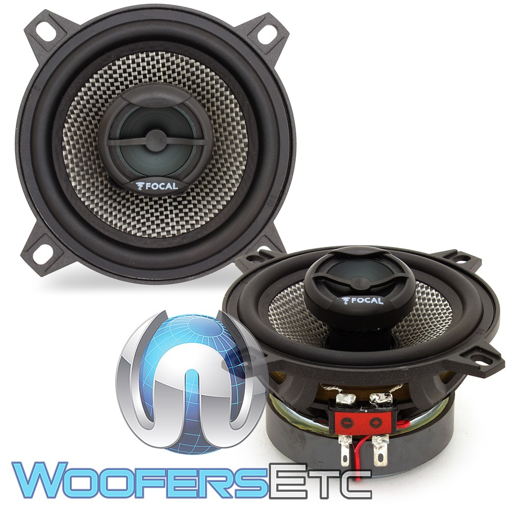 "(Bulk Pack) Focal 100AC 4"" 40W RMS 2-Way Access Series Coaxial Speakers"