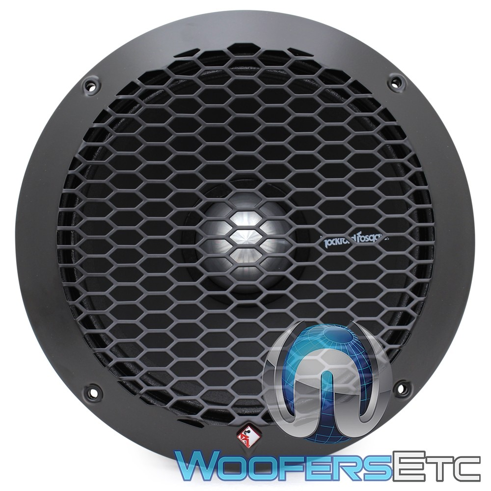 """Rockford Fosgate PPS4-10 10"""" 350W RMS Single 4-Ohm Subwoofer"""