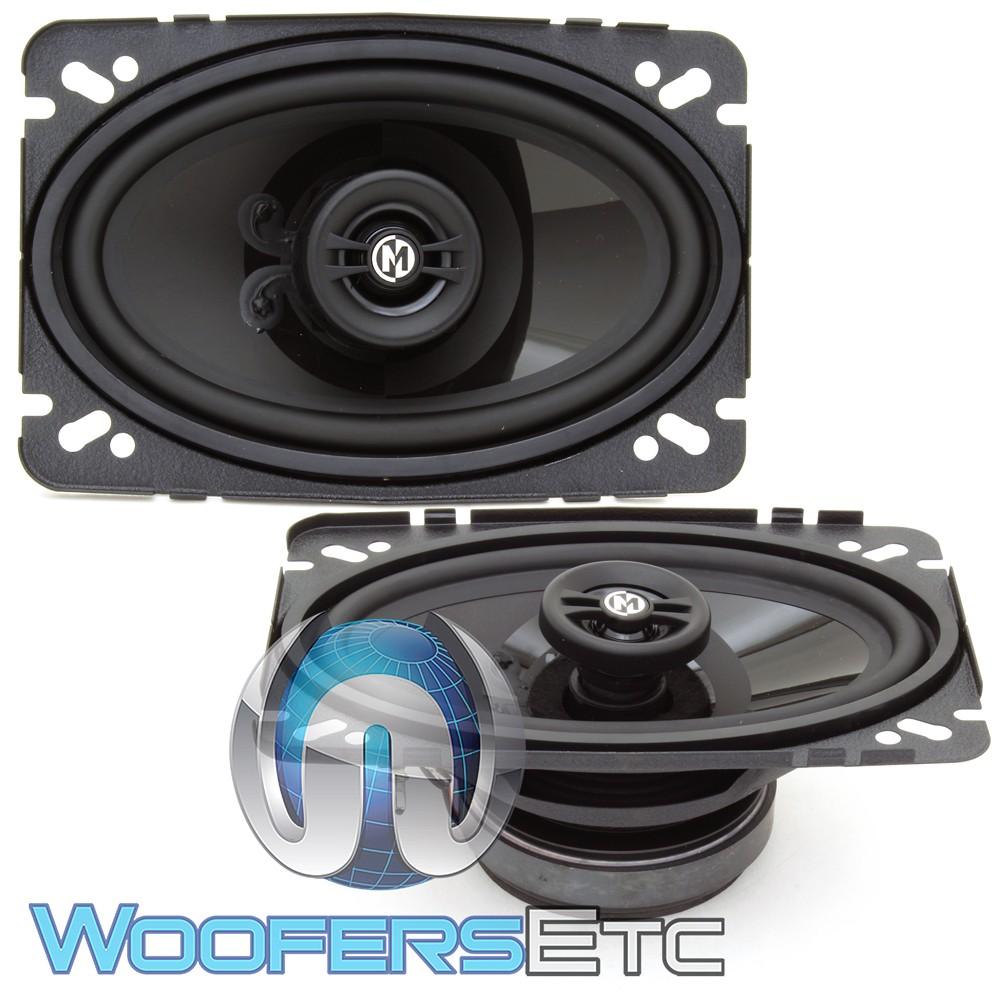 "Memphis PRX46 4"" x 6"" 30W RMS 2-Way Coaxial Speakers"
