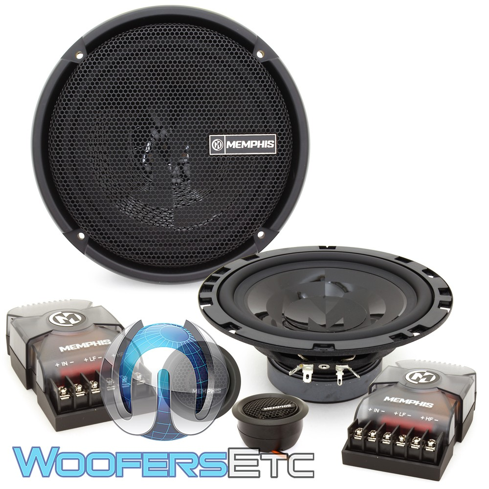 """Memphis PRX60C 6.75"""" 60W RMS 2-Way Component Speakers System"""