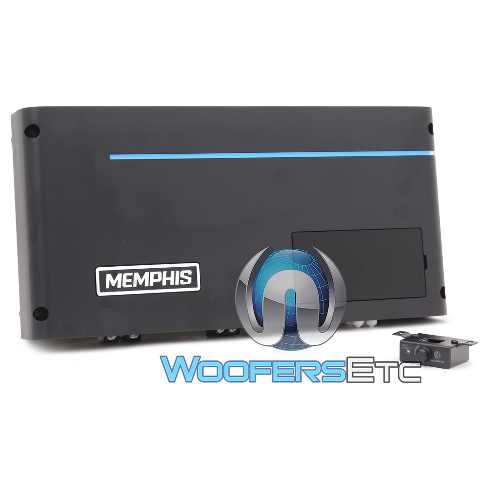 Memphis PRXA1500.1 Monoblock 1500W RMS Power Reference Series Amplifier
