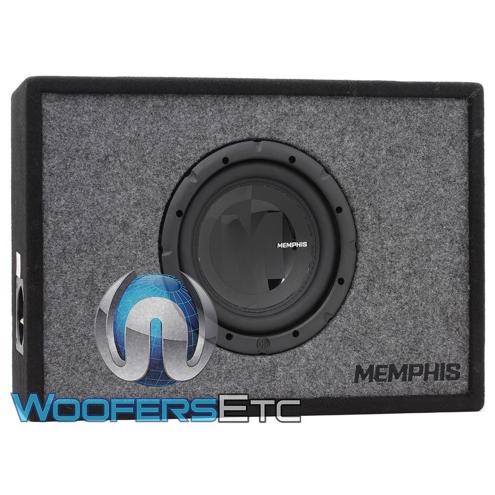 """Memphis PRXE8S 8"""" 200W RMS 4-Ohm Enclosed Subwoofer"""