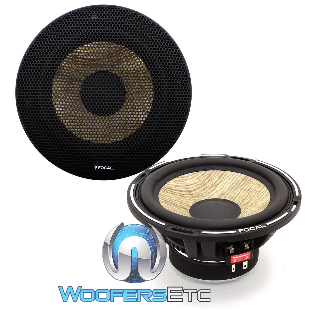 """Focal PS6F3 6.5"""" Flax Series Midbass Speakers"""