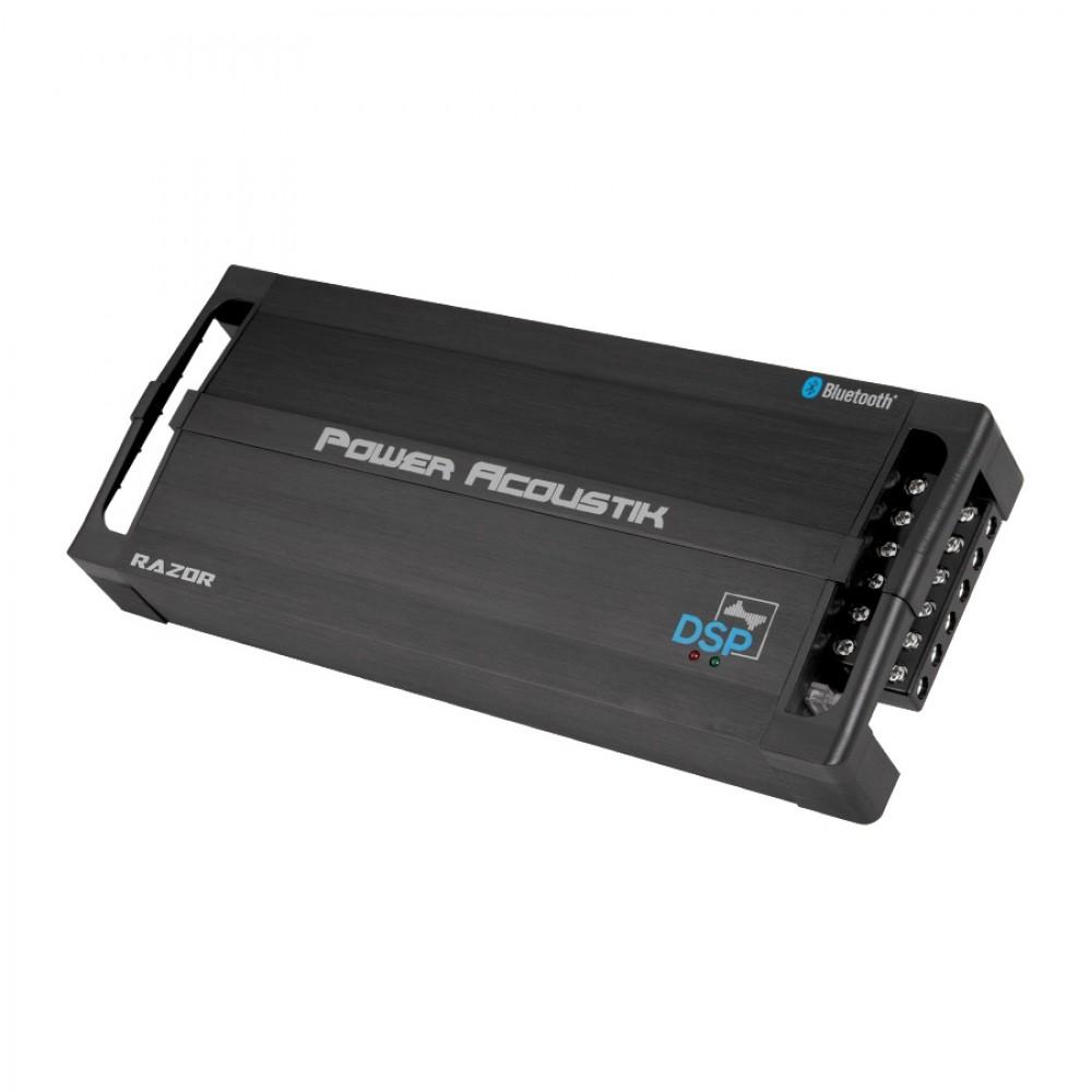 Power Acoustik RZ4-2000DSPB 4 Channel 2000W Bluetooth DSP Amplifier