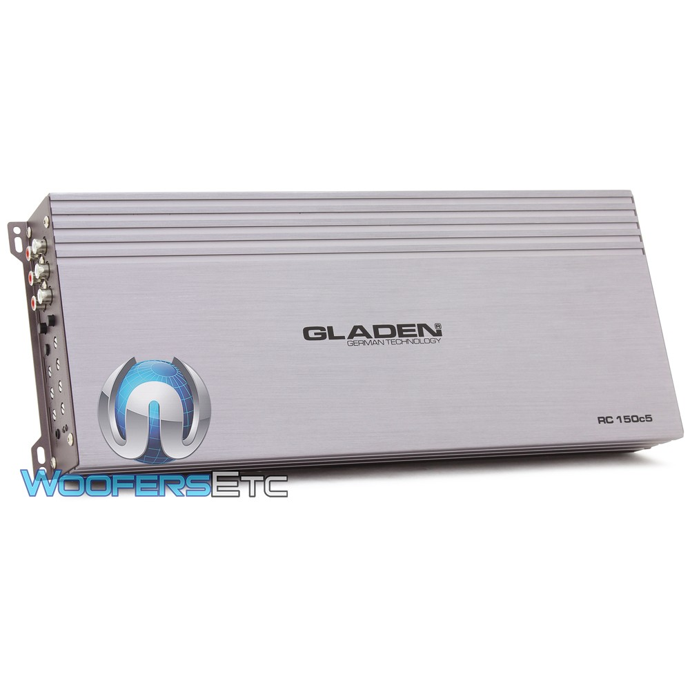 Gladen RC150c5 5-Channel 860 Watt Class AB/D Amplifier