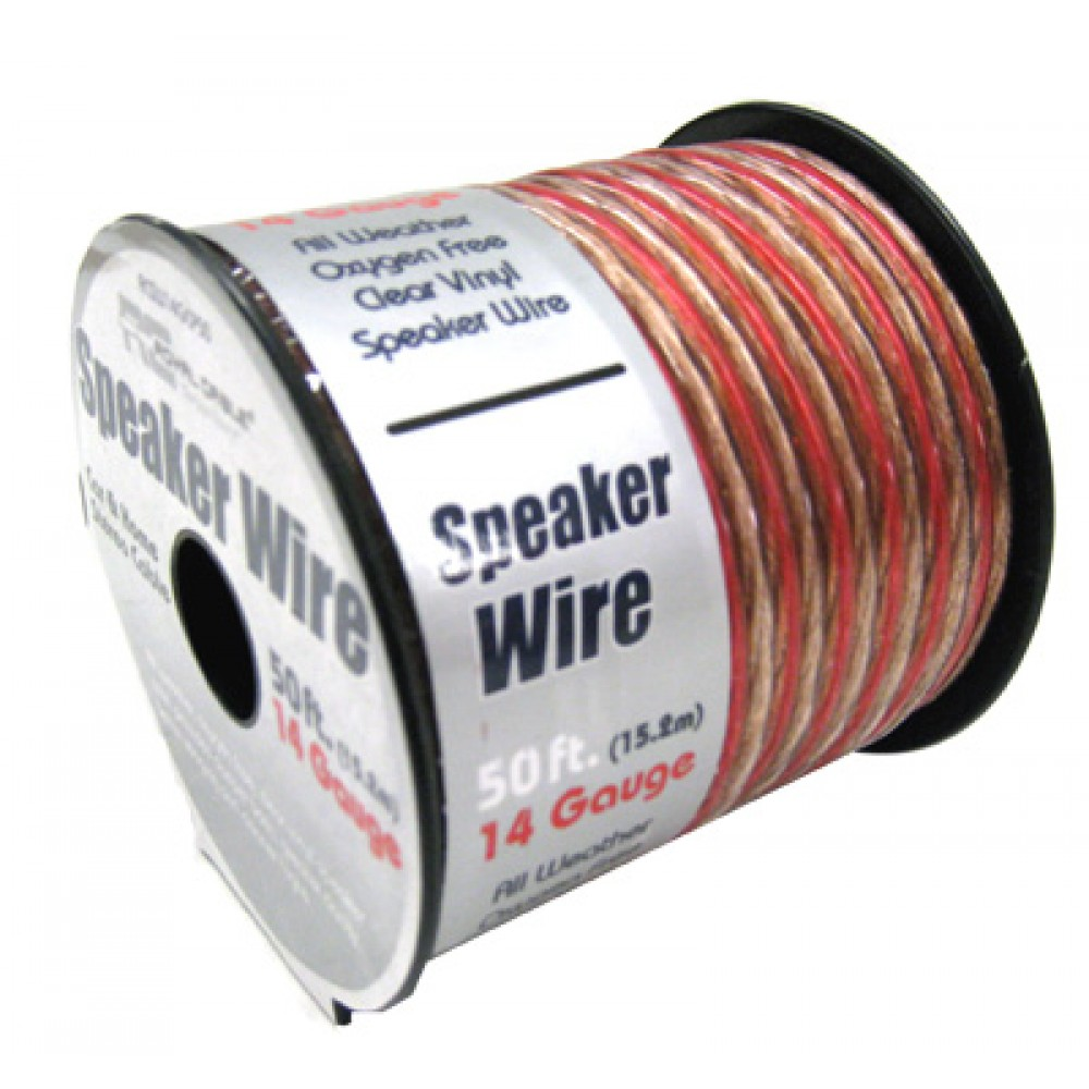 50 - Royal Cable 50 Ft. 14 Gauge Speaker Wire