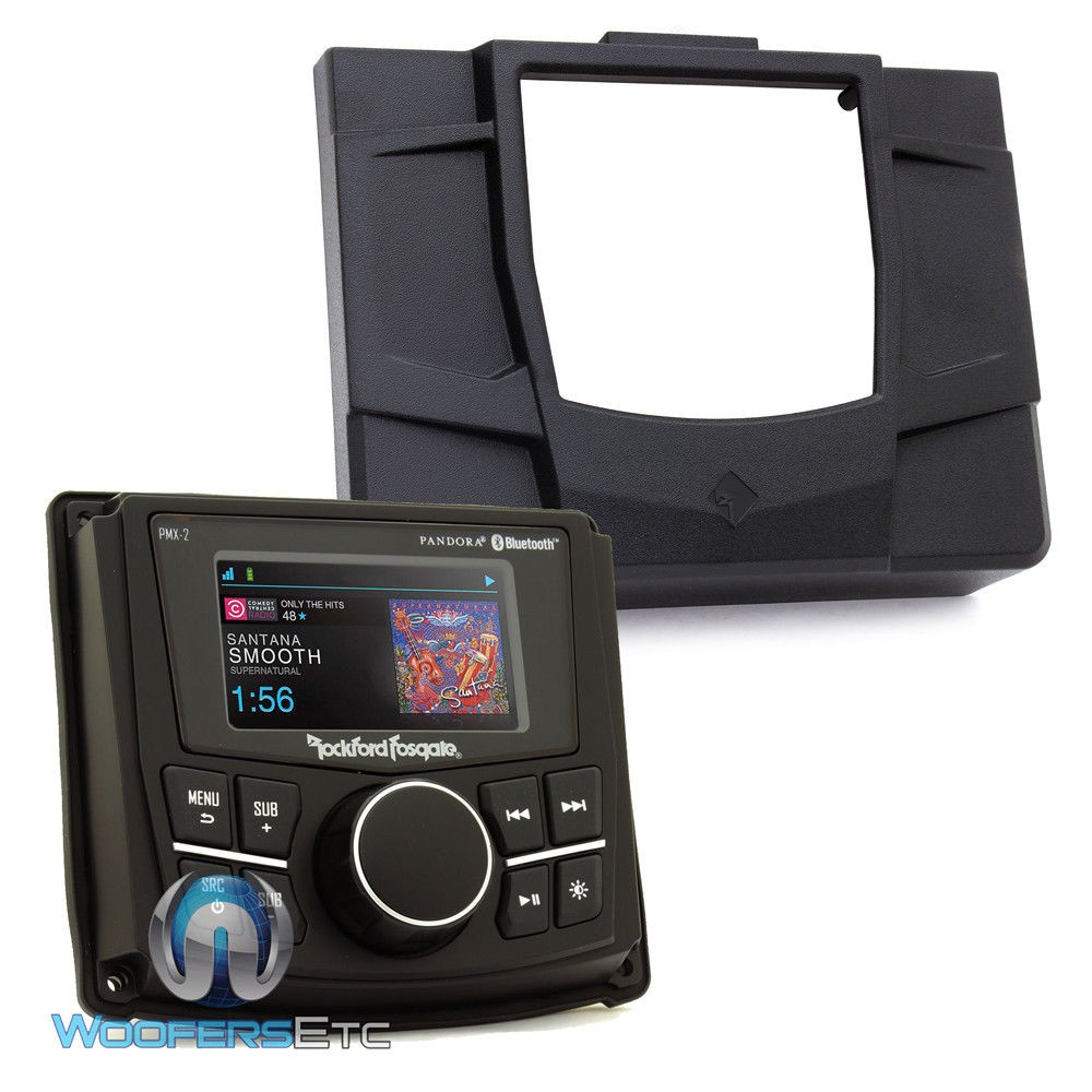 Rockford Fosgate RZR-STAGE1 Stereo Motorsports Audio Kit ...