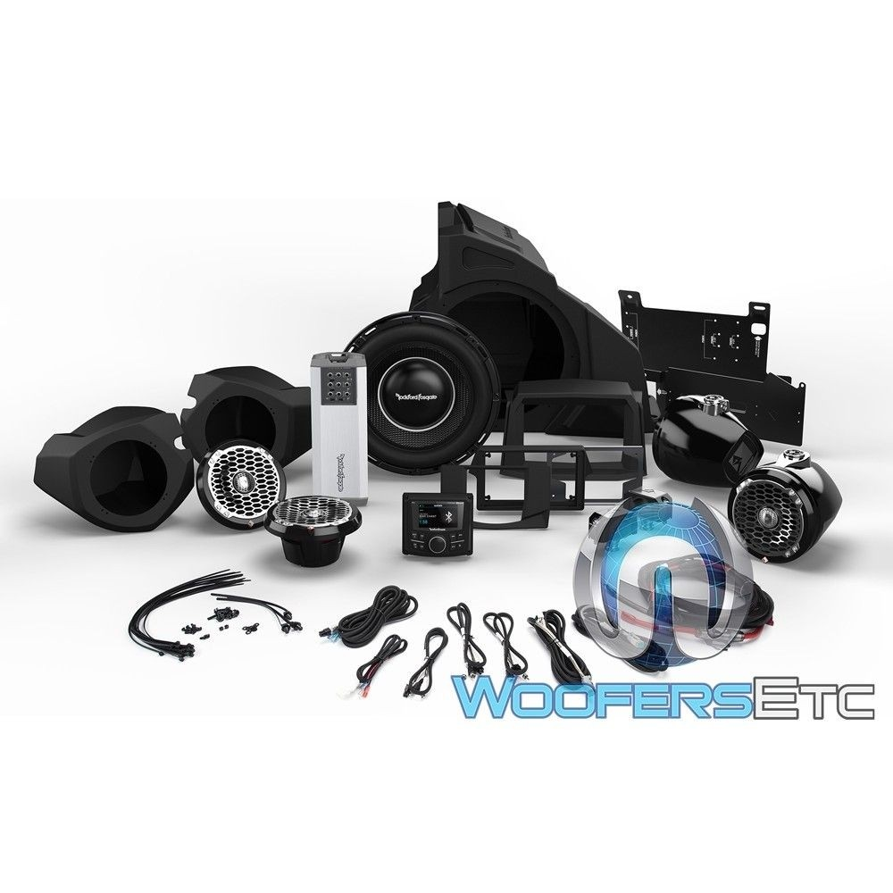 Rockford Fosgate PMX3-UPGR-RZR14-STG5 Audio Upgrade Kit for Select 2014-Up Polaris RZR Models