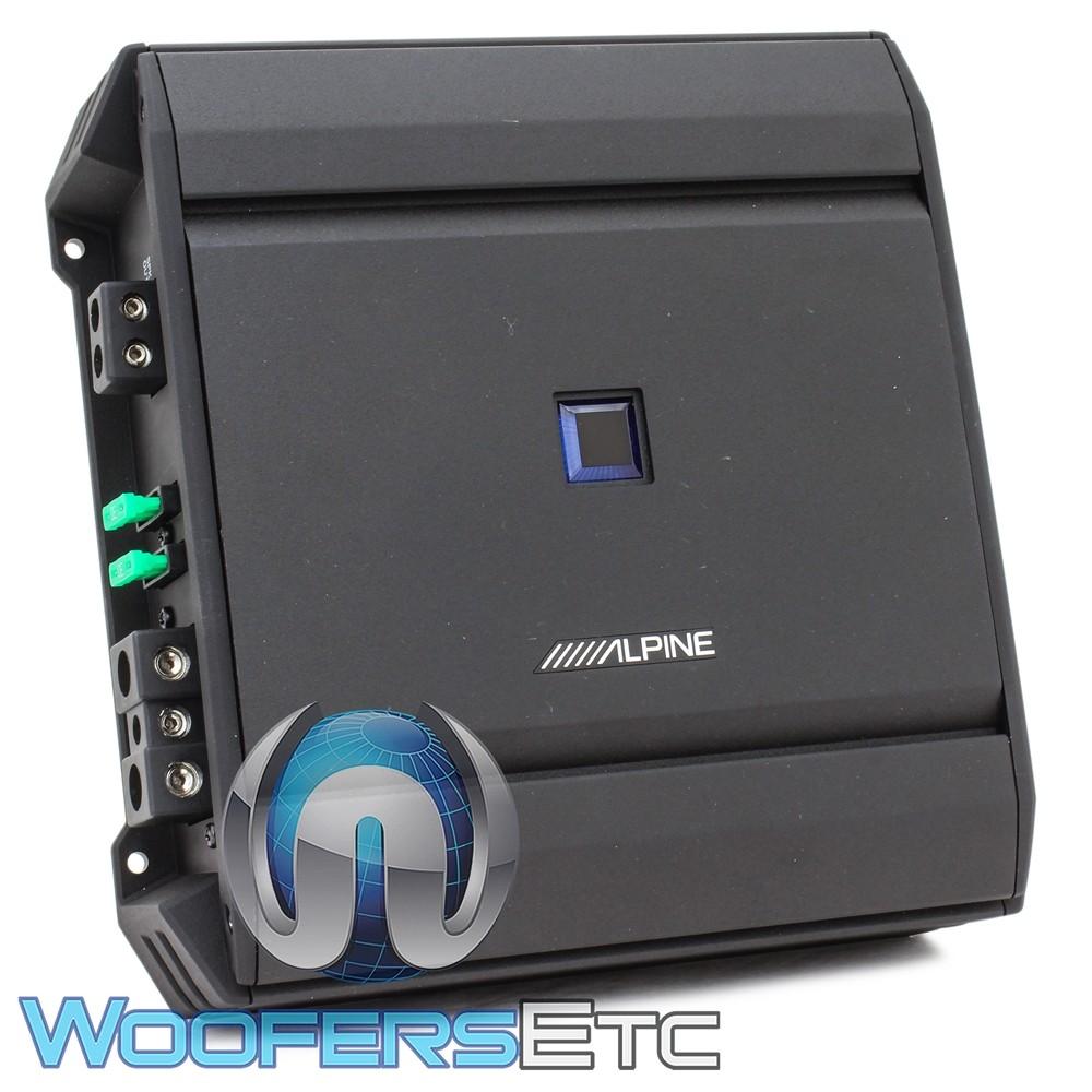 Alpine S-A60M Monoblock 600W RMS S-Series Amplifier