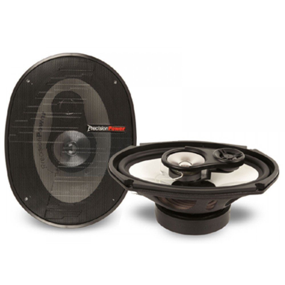 "S.693 - Precision Power 6"" x 9"" Sedona Series 3 Way Coaxial Speakers"