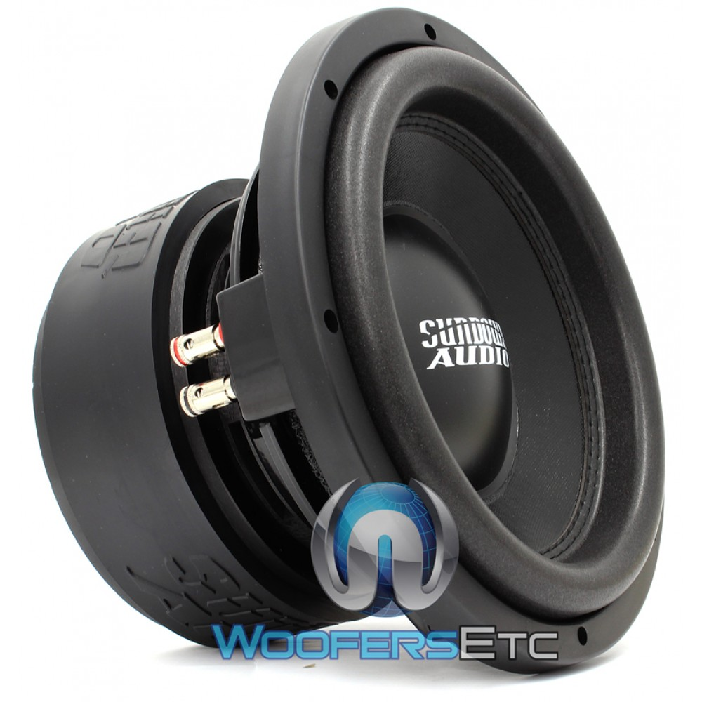 "Sundown Audio SA-10 D4 Rev 2 10"" 600W RMS Dual 4-Ohm SA Series Subwoofer"