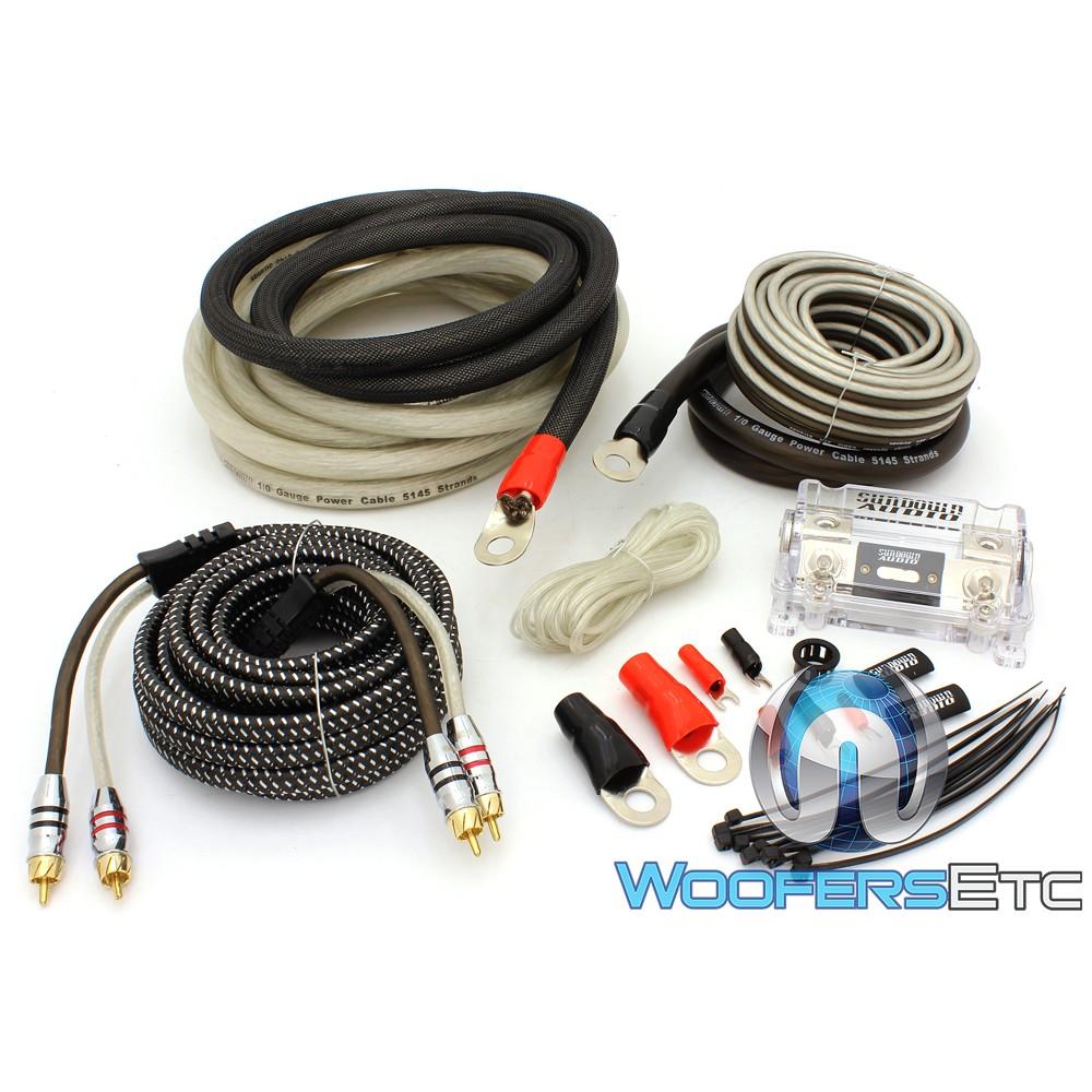 Sundown Audio 1/0 Oxygen Free Copper (OFC) Amplifier Installation Kit