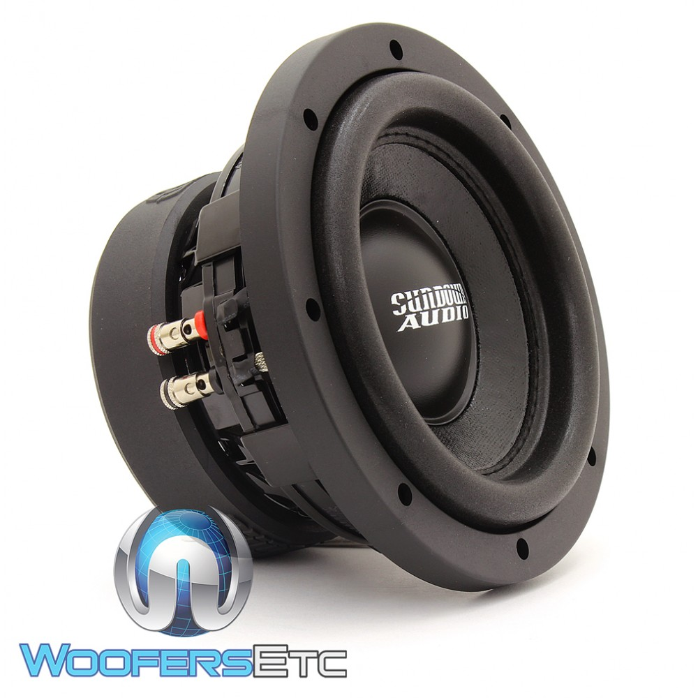 "Sundown Audio SA-6.5 SW D4 6.5"" 200W Dual 4-Ohm SA Series Subwoofer"