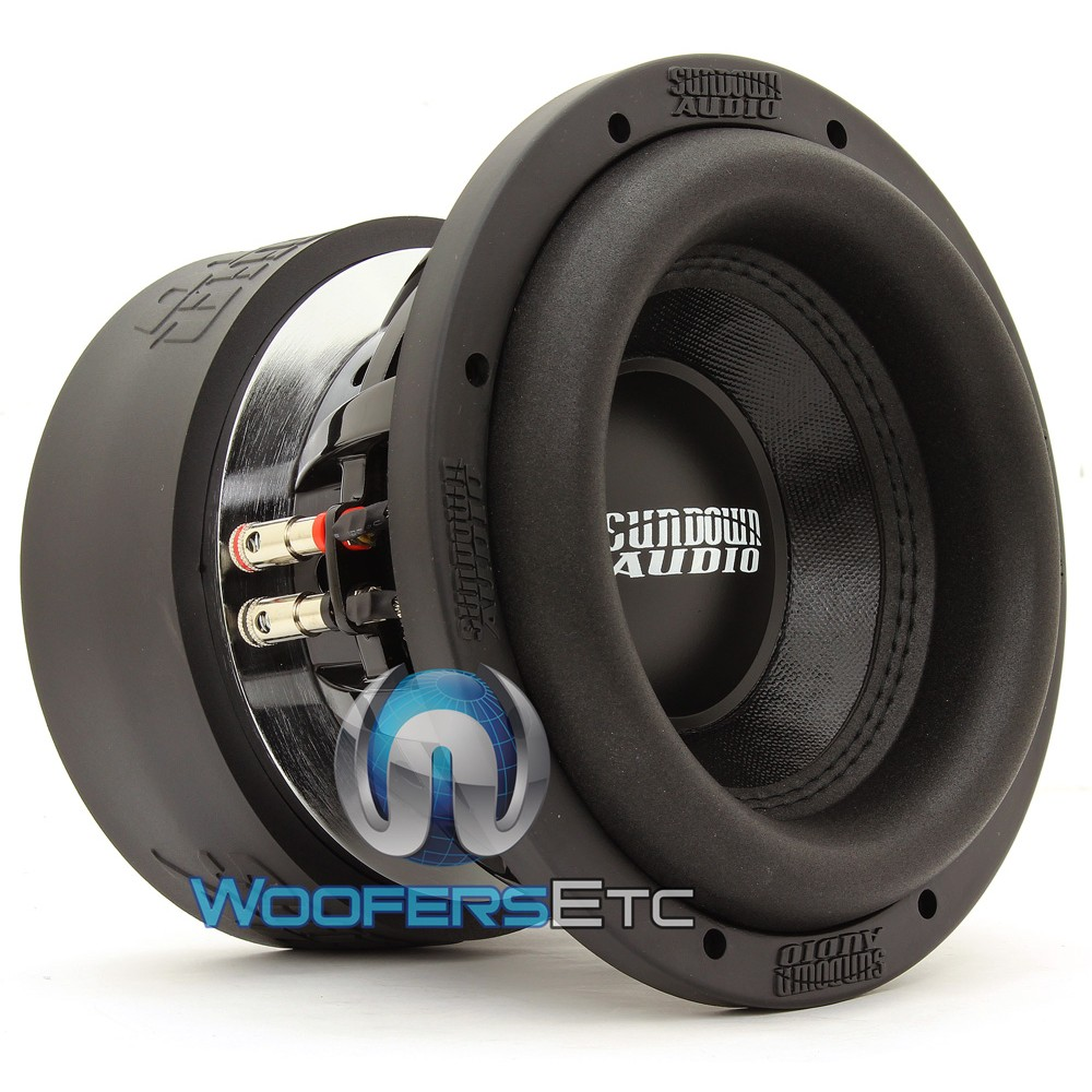 "Sundown Audio SA-8 V.3 D2 8"" 500W RMS Dual 2-Ohm SA Series Subwoofer"