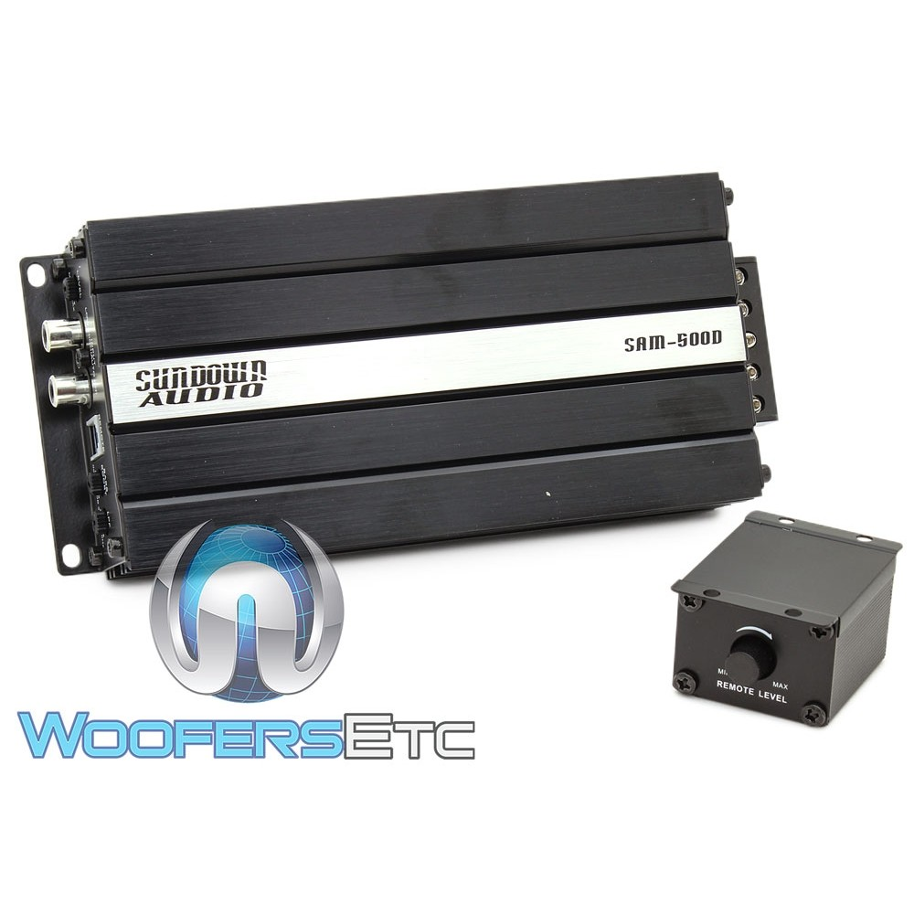 Sundown Audio SAM-500D Monoblock Micro Amplifier