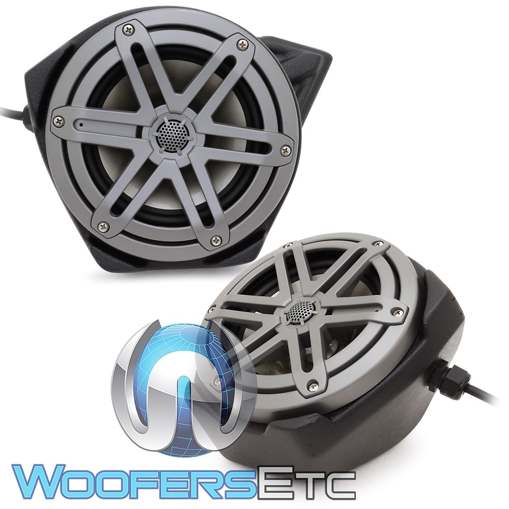 "JL Audio SB-Y-YXZ1SPKR/MX650 6.5"" 60W RMS Custom Speaker Package for 2016-Up Yamaha YXZ"