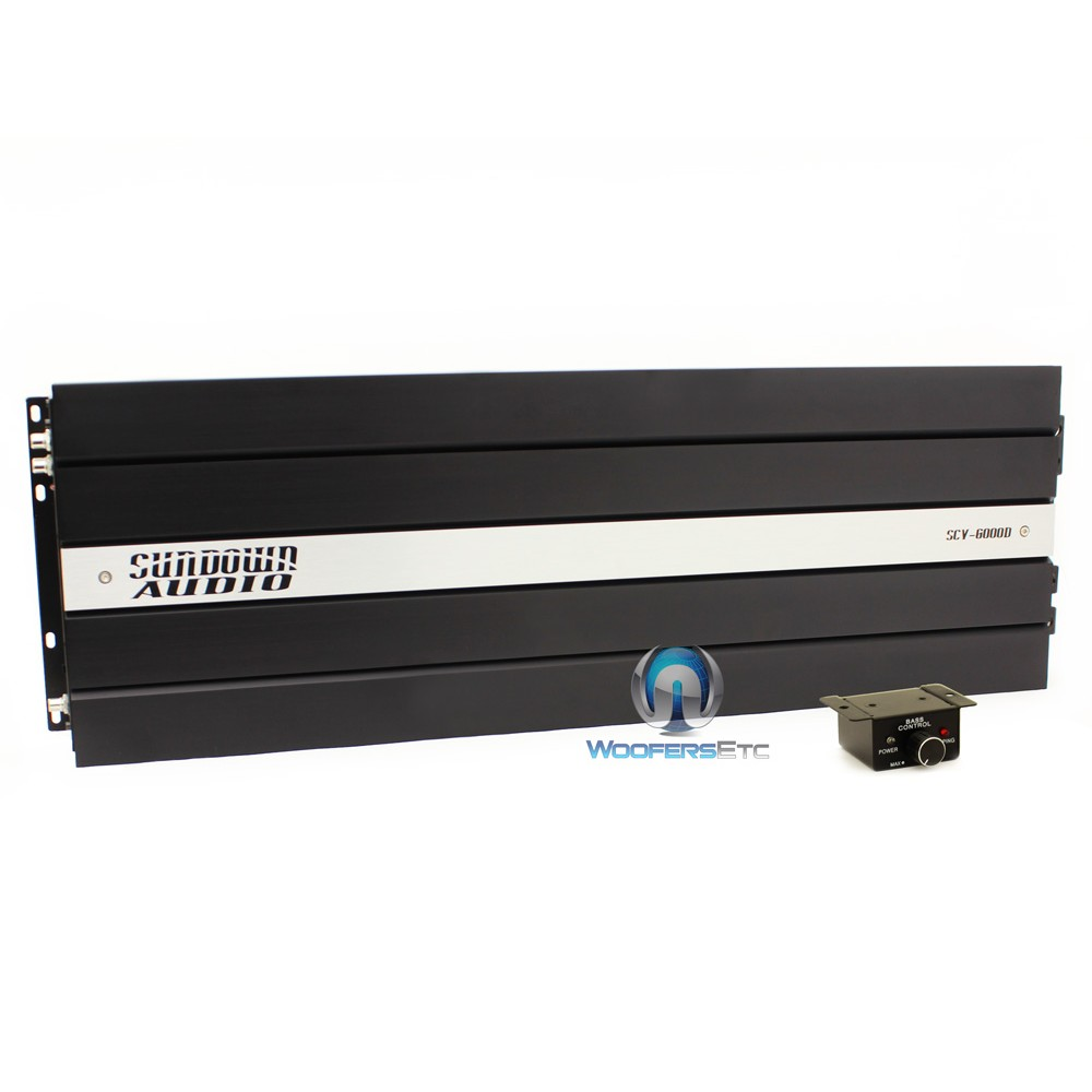 Sundown Audio SCV-6000D Monoblock 6000W RMS Car Amplifier