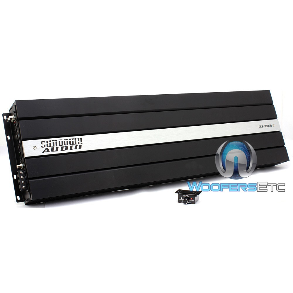 Sundown Audio SCV-7500D Monoblock 7500W RMS Car Amplifier