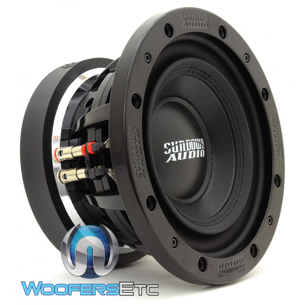 "Sundown Audio SD-3 8 D4 8"" 300W RMS Dual 4-Ohm SD Series Subwoofer"