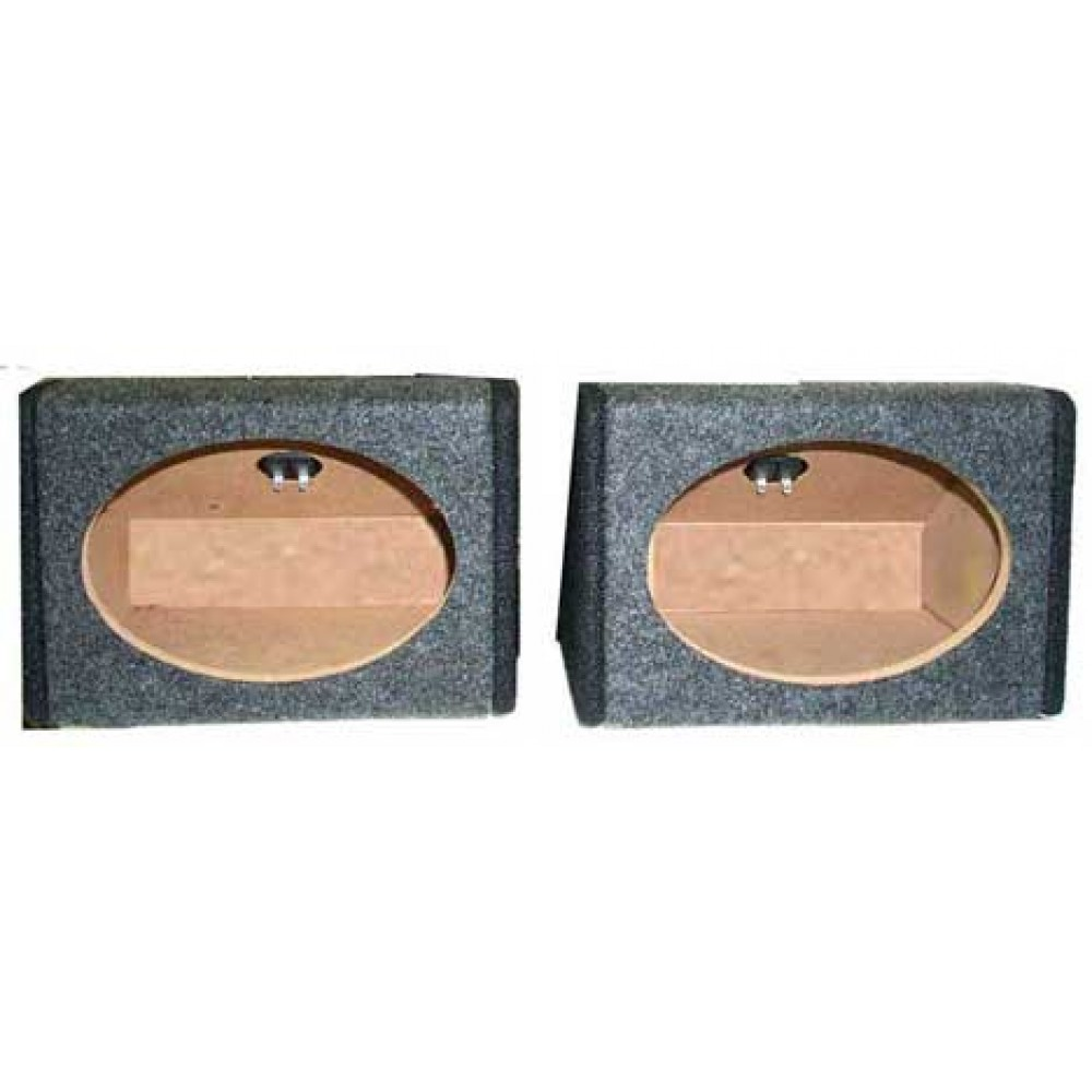 "SF69 - Ground Shaker Two 6x9"" Car Speaker Boxes"