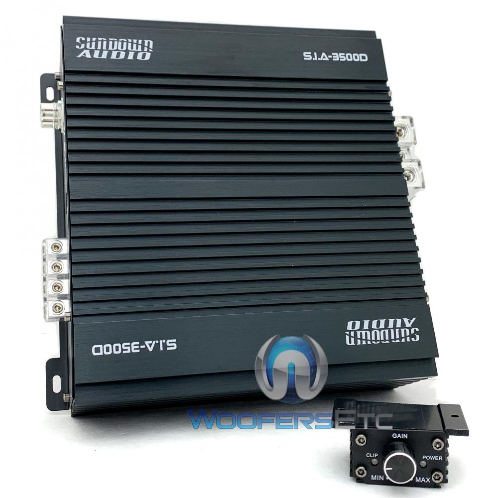 Sundown Audio SIA-3500D Monoblock 3500W RMS Amplifier